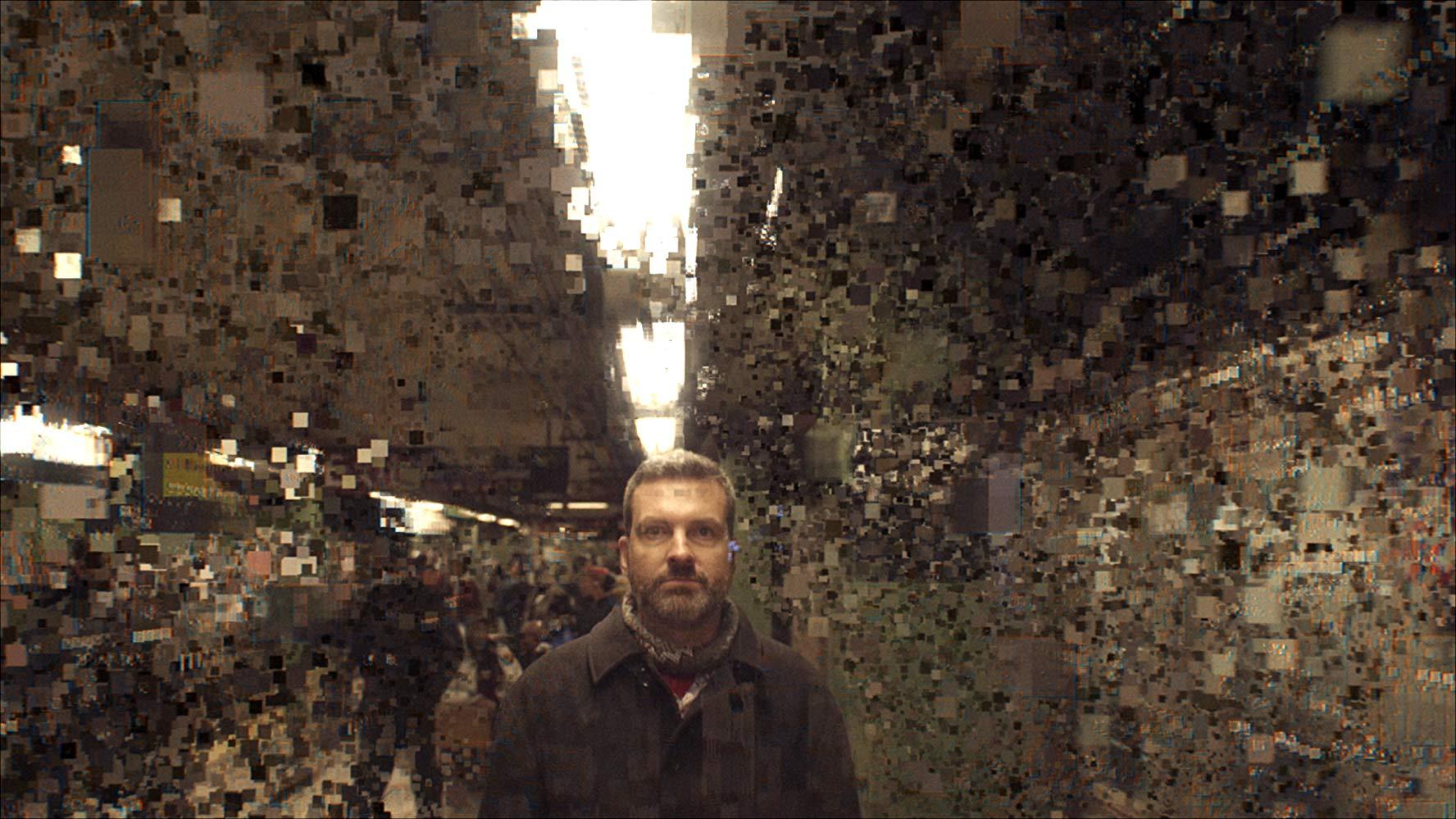 영화 거대한 해킹의 장면.